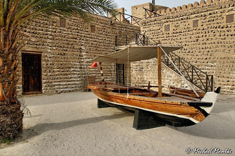 Dubai Museum Al Fahidi Fort Boot
