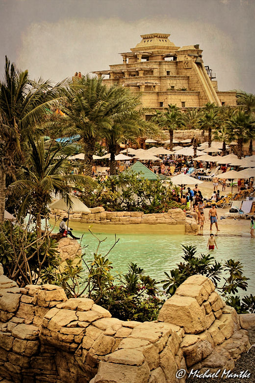 Dubai The Palm Jumeirah Atlantis Aquaventure Waterpark