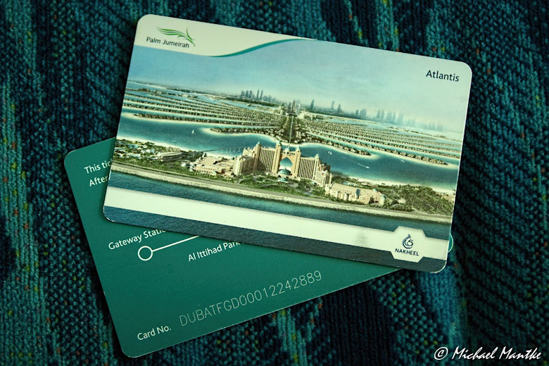 Dubai The Pal Jumeirah Monorail Tickets