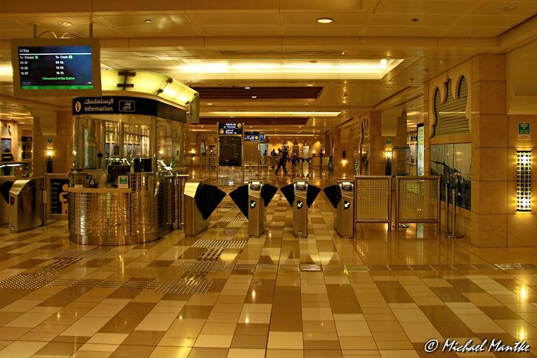 Dubai Deira Metro Station