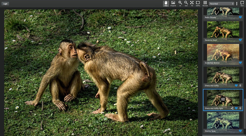 Fotobearbeitung Textur Filter anwenden