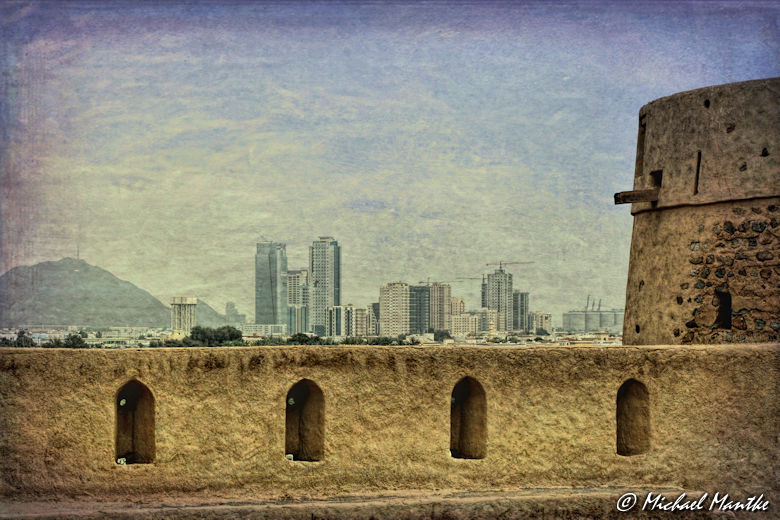 Fort Heritage Village Skyline Fujairah