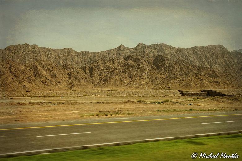 Fujairah Hadschar Gebirge