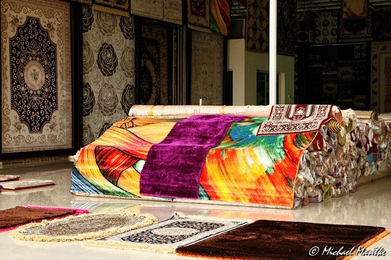 Fujairah Teppich Stand