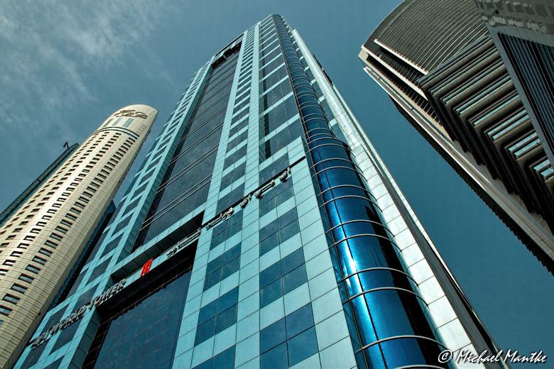 Dubai Downtown Wolkenkratzer