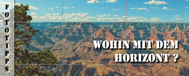 Fotografie-Tipps - Horizont platzieren