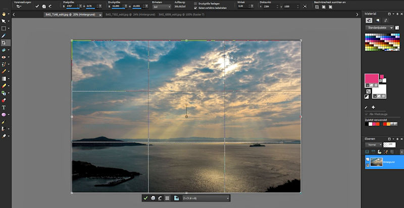 Fotografie-Tipps - Horizont platzieren mit Drittelregel