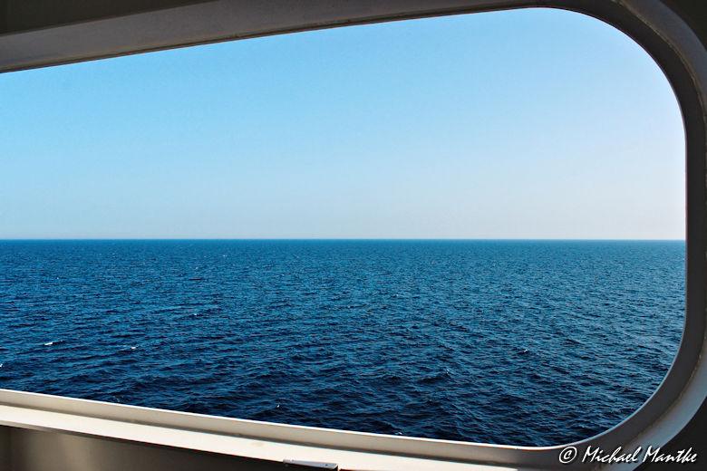 Fotografie-Tipps - mittig platzierter Horizont
