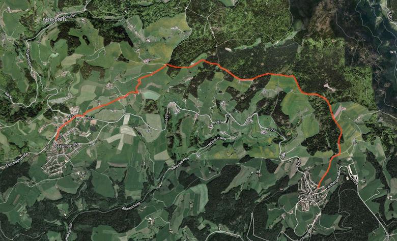 Panoramawanderweg St. Märgen