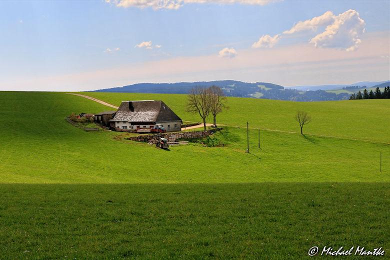 Panoramaweg St. Märgen - Bauernhof Schwarzwald