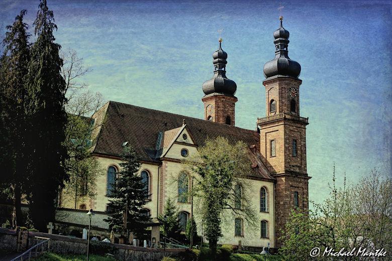 Panoramaweg St. Märgen - Kloster St. Peter