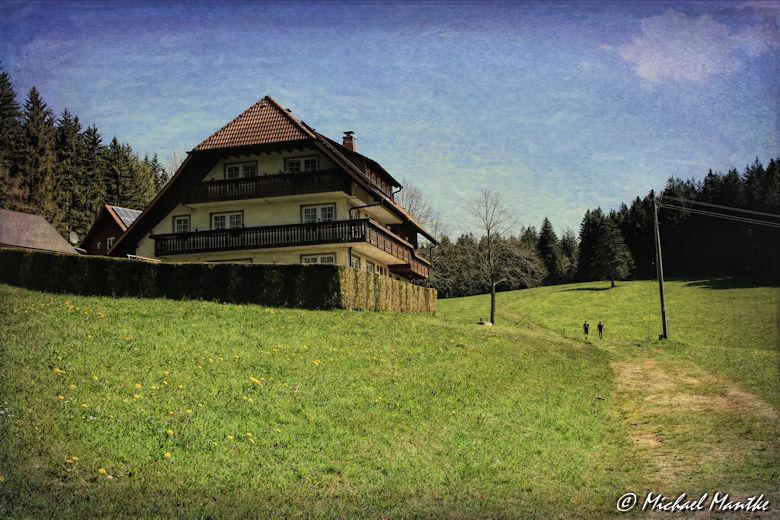 Panoramaweg St. Märgen - Gutshof im Schwarzwald