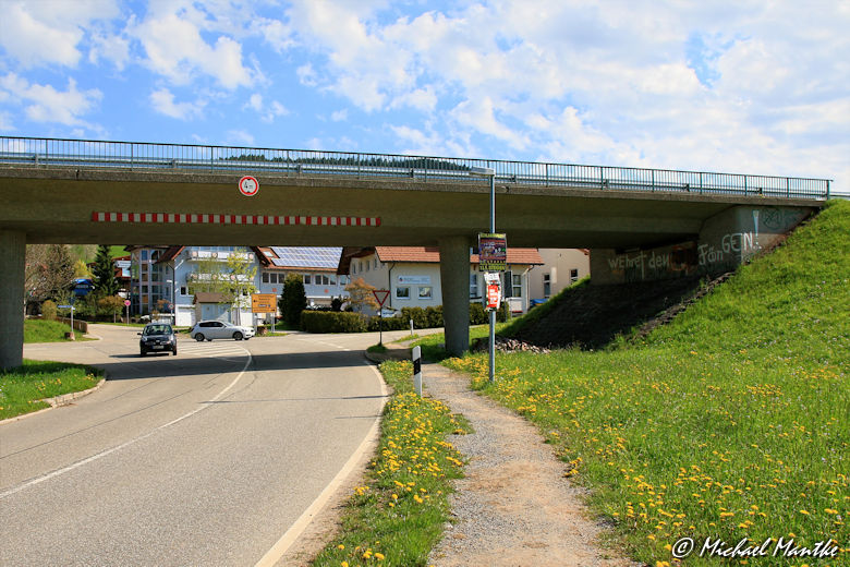 Panoramaweg St. Märgen - Unterführung in St. Peter