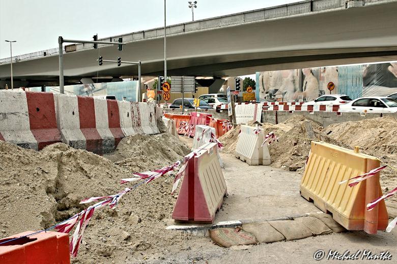 Safa Park Dubai Baustelle