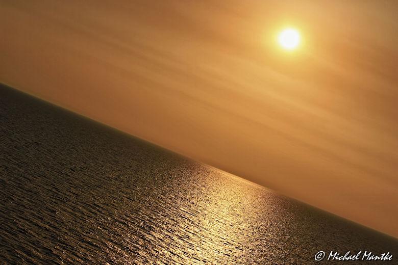 Fotografie-Tipps - schräg platzierter Horizont