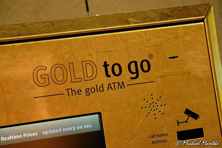 Souk Madinat Jumeirah - Gold To go aus Automat