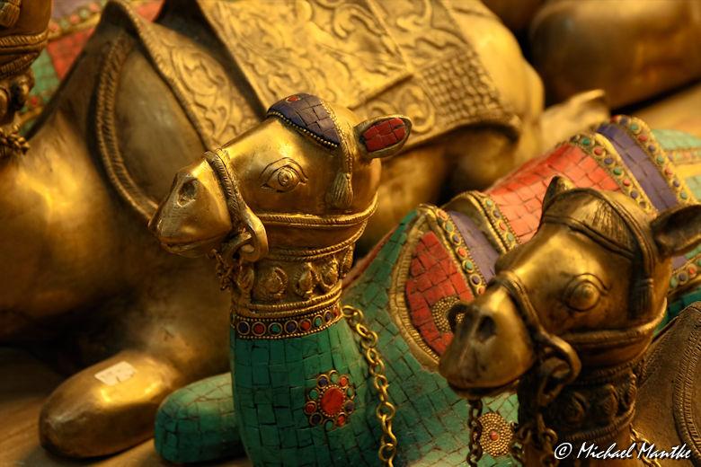 Souk Madinat Jumeirah - Kamel Statuen