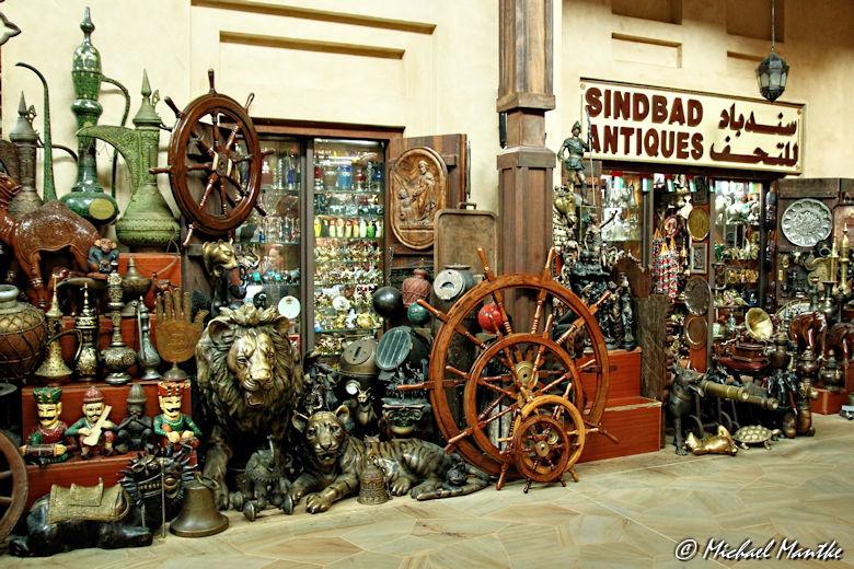 Souk Madinat Jumeirah - Sindbad Antiques