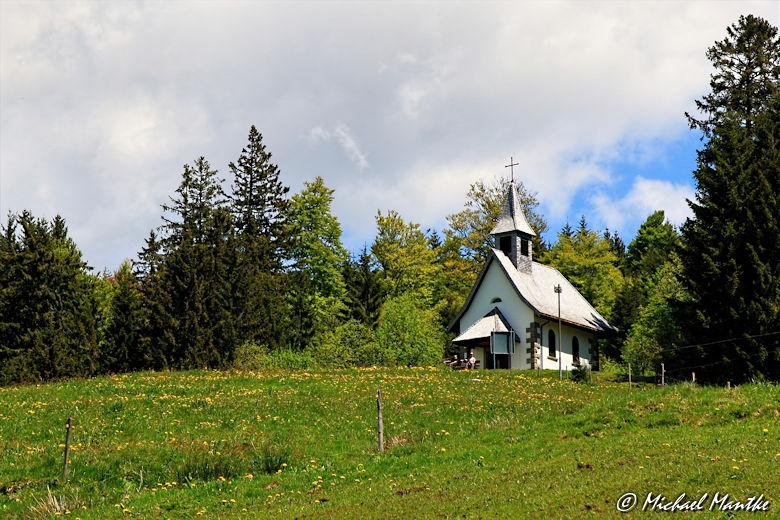 Martin Heidegger Rundwanderweg bei Todtnauberg - Fatima Kapelle