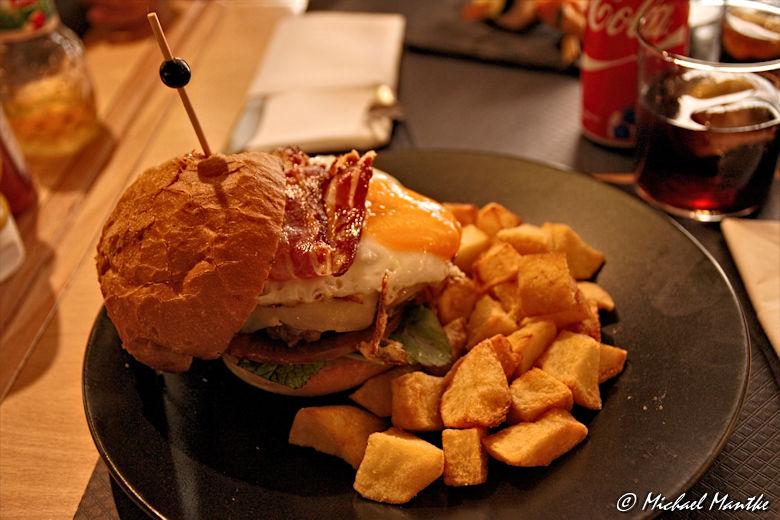 Barcelona - Burger im Ferran 59
