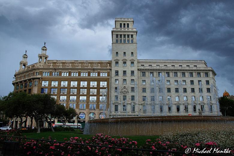 Barcelona Katalonienplatz