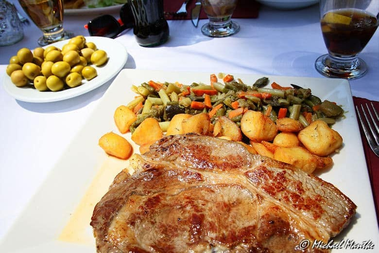 Barcelona Placa Reial Rib Eye Steak
