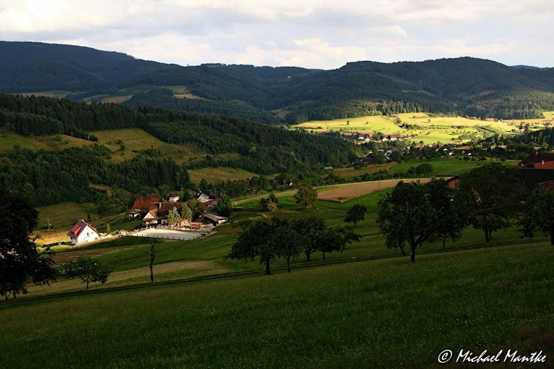 Wetterleuchten im Schwarzwald