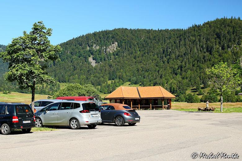 Wanderparkplatz Mösle Menzenschwand
