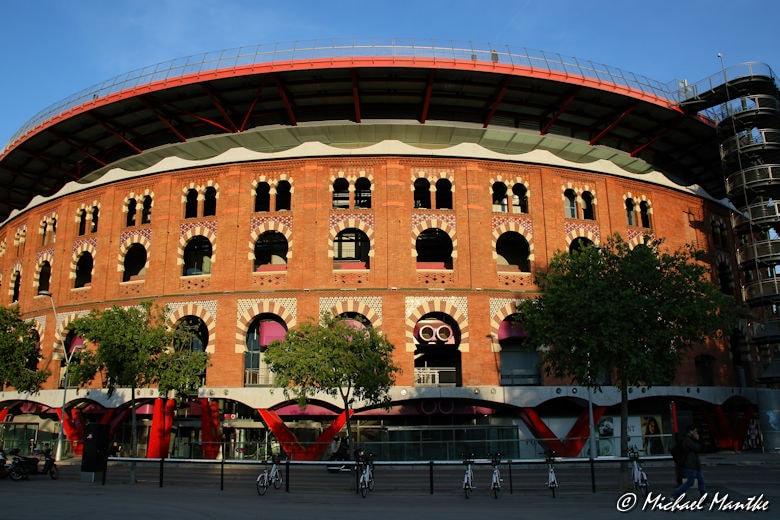 Plaza de Espanas Arenas de Barcelona