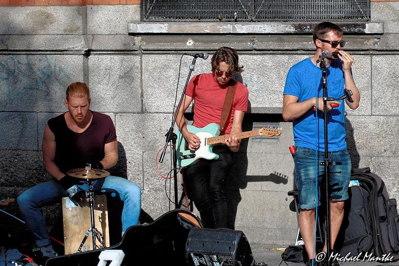 Sightseeing Dublin Tipps Straßenmusik