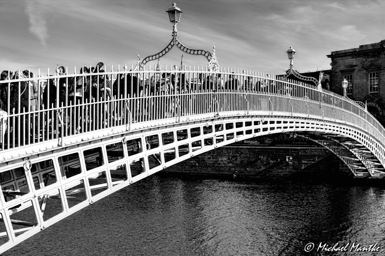 Sightseeing Dublin Tipps Halfpenny Bridge