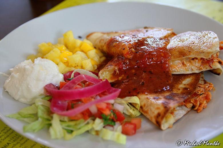 Mexikanisch essen in Freiburg: Quesadilla