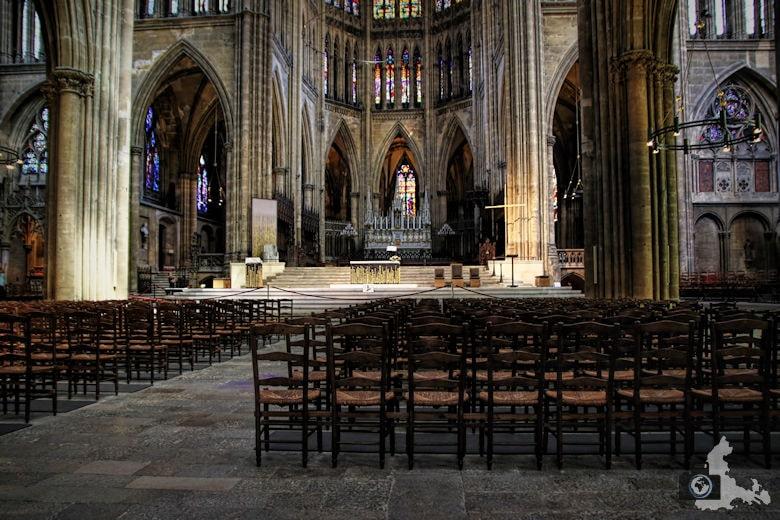 Frankreich Kathedrale von Metz