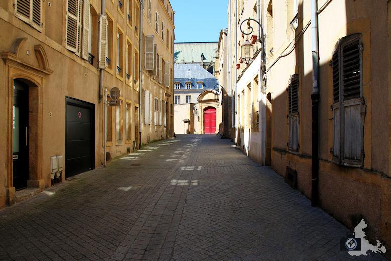 Frankreich Metz Seitenstraße