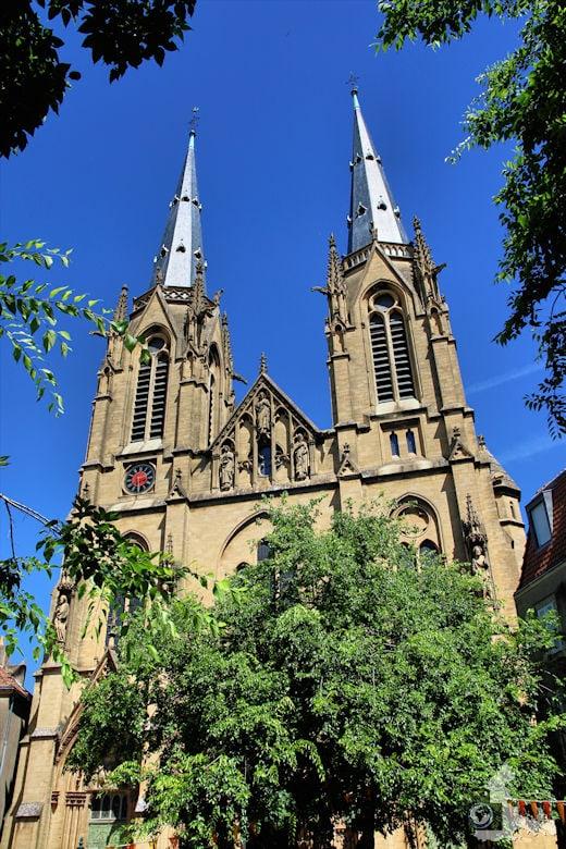 Frankreich Metz Kirche Sainte-Ségolène