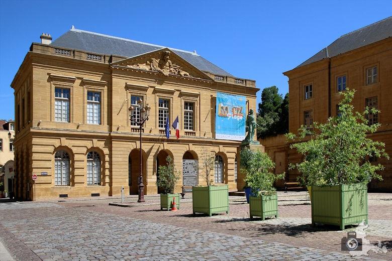 Frankreich Metz Tourismus Büro