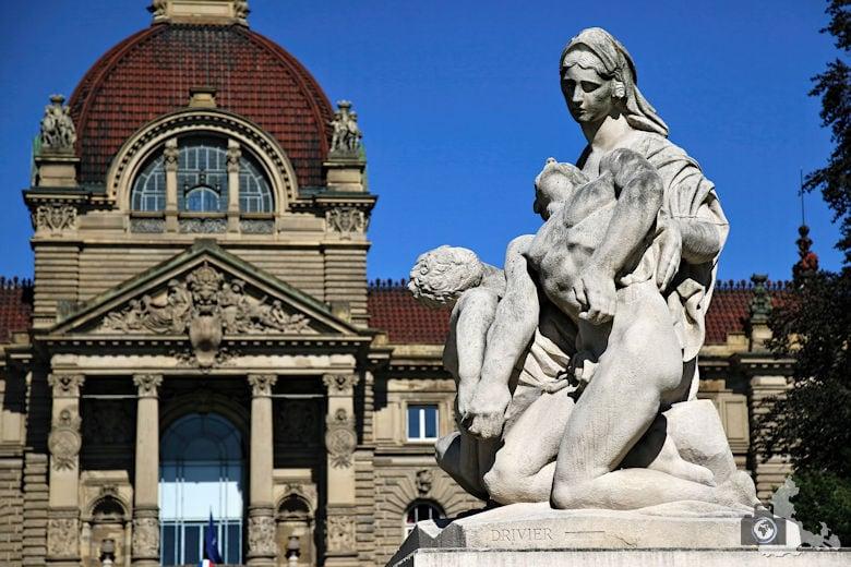 Frankreich Straßburg Palais du Rhin