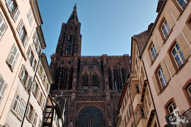 Frankreich Straßburg Strassburger Münster