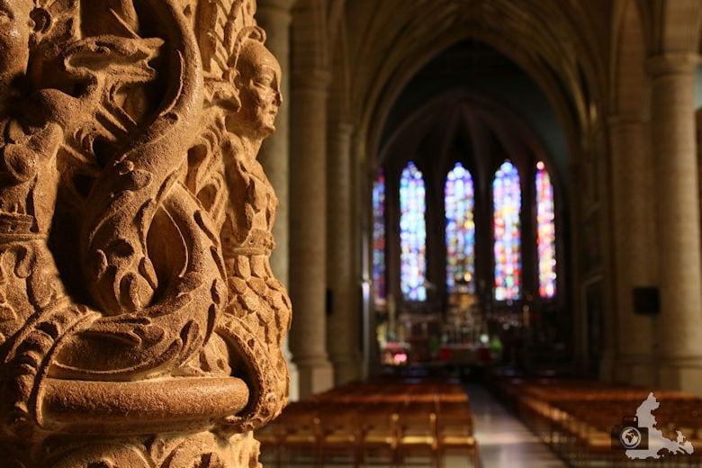 Luxemburg Kathedrale Unserer Lieben Frau