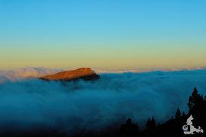 FotoJuwel - Sonnenaufgang über den Wolken auf Teneriffa