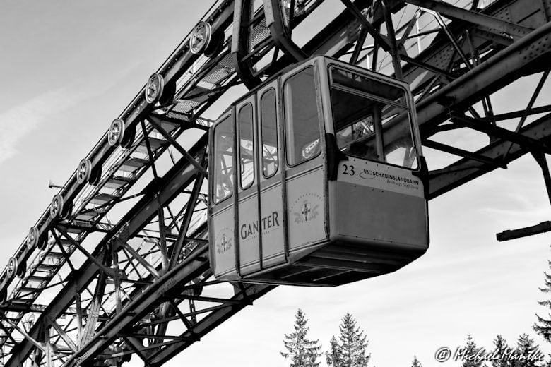 Gondel der Schauinslandbahn