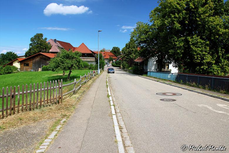 Hauptstraße in Horben
