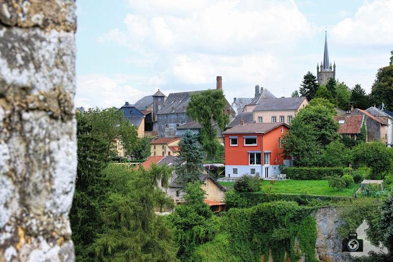 Burg Beaufort in Luxemburg - Aussicht
