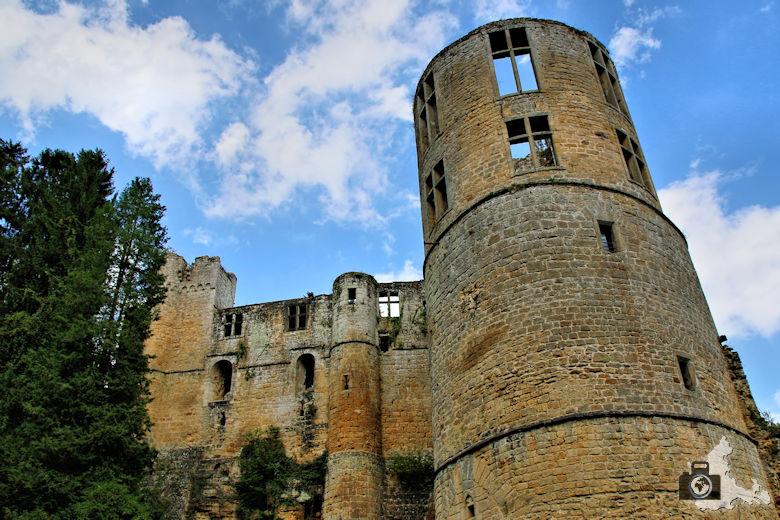 Burg Beaufort in Luxemburg - Turm