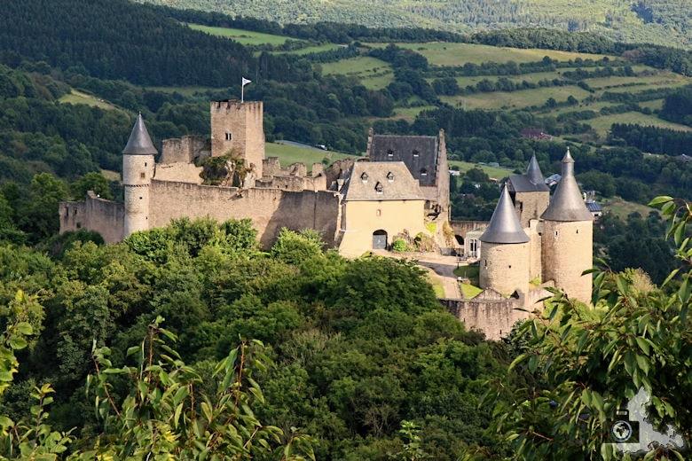 Burg Bourscheid, Luxemburg