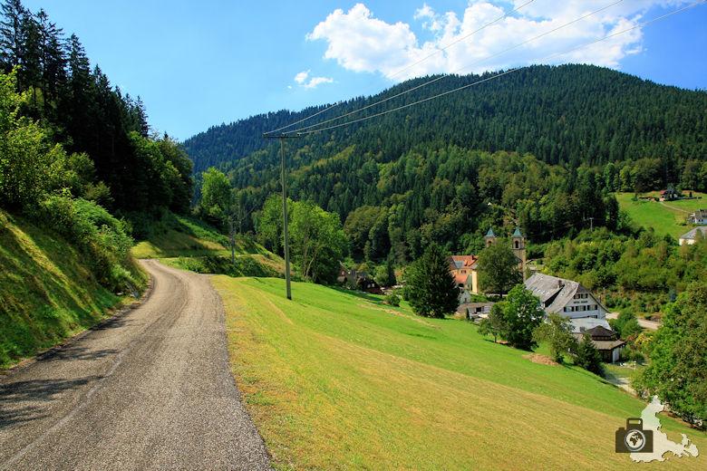 Burgbachwasserfall Wanderung - Bad Rippoldsau
