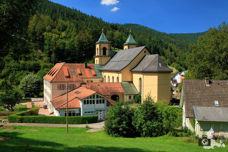 Burgbachwasserfall Wanderung - Kloster Bad Rippoldsau