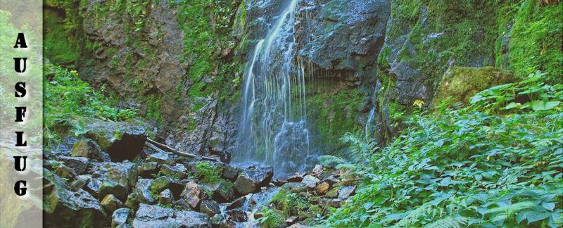 Burgbachwasserfall Wanderung