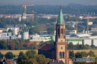 Beispielbilder Canon 100-400 L IS II USM - Kirche St. Georgen