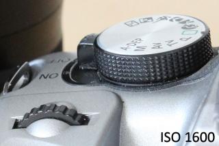 ISO 1600 mit der Canon EOS 1300D